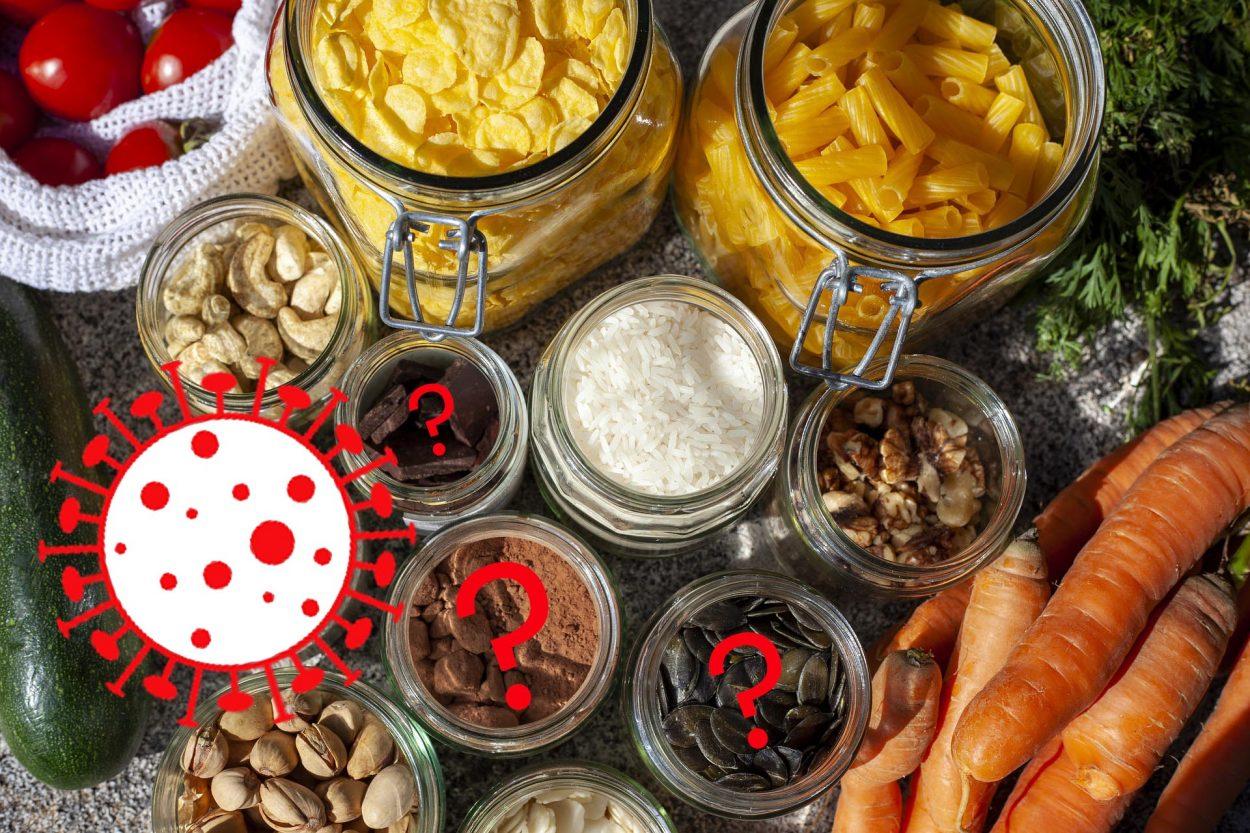 Aliments en vrac et covid-19