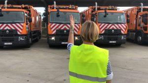 Réception camion de collecte
