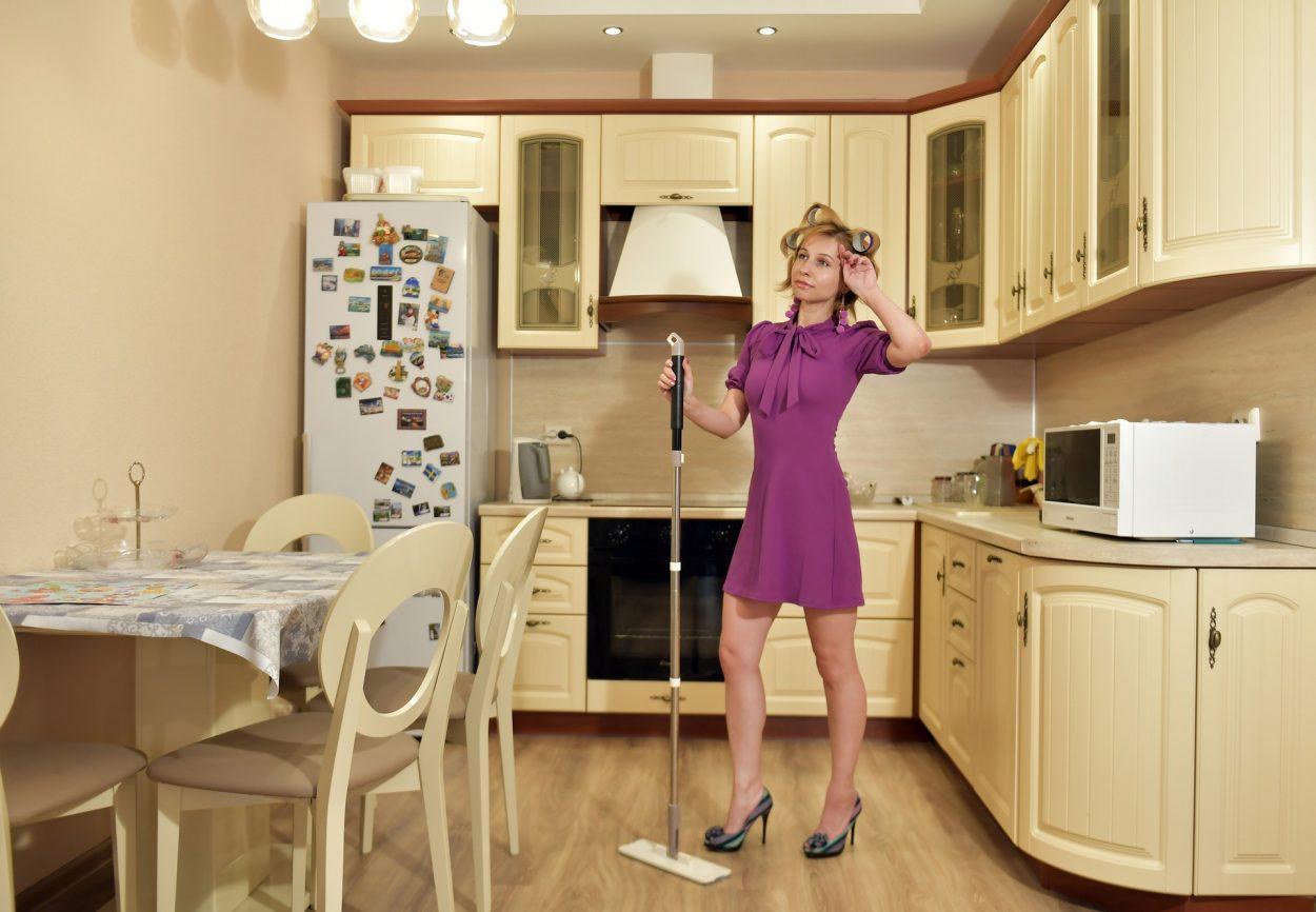 je range et nettoye ma cuisine