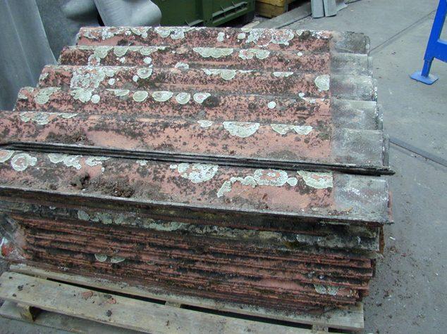 Tôles ondulées en amiante ciment
