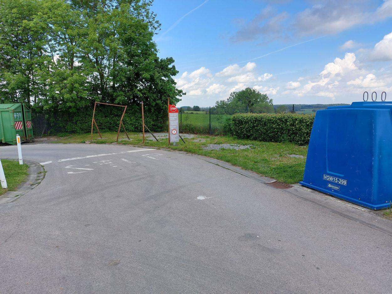 Zone des travaux RPAC Havelange